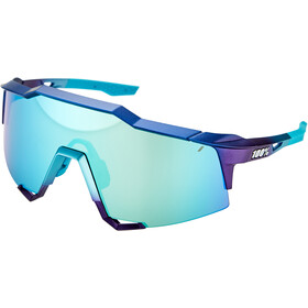 100% Speedcraft Gafas Alta, matte metallic into the fade/blue mirror